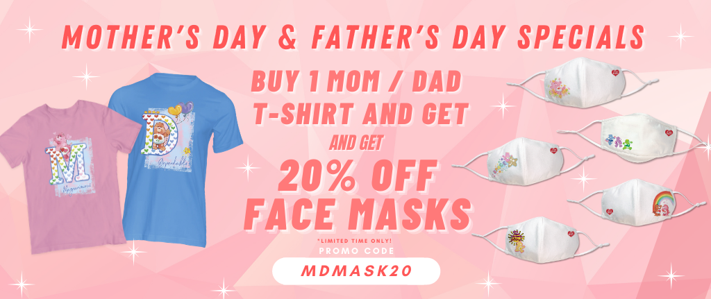 Care Bears Singapore Mother's Day & Father's Day Specials